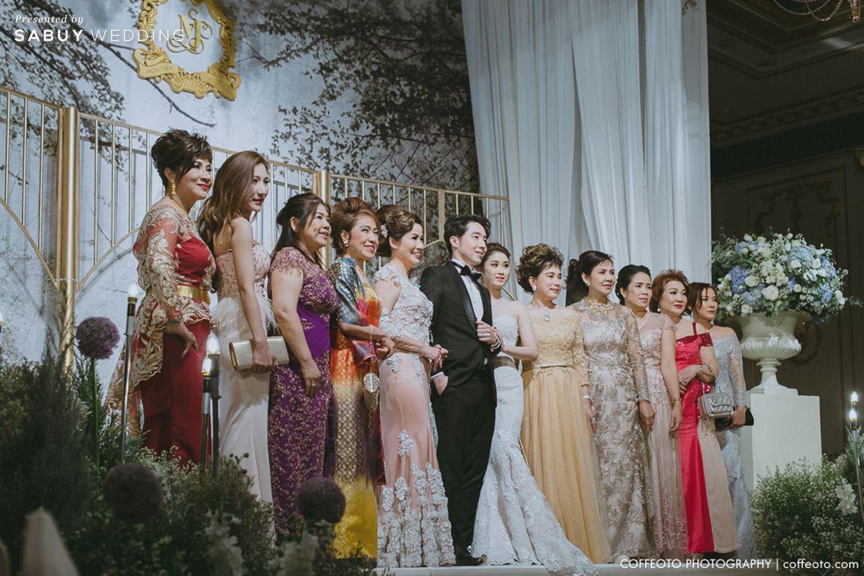 รูปงานแต่ง,บ่าวสาว,ครอบครัวบ่าวสาว,backdrop งานแต่ง,จัดดอกไม้งานแต่ง รีวิวงานแต่ง Winter Wonderland ฉากสวยเป๊ะปัง อลังเว่อร์ @Mandarin Oriental