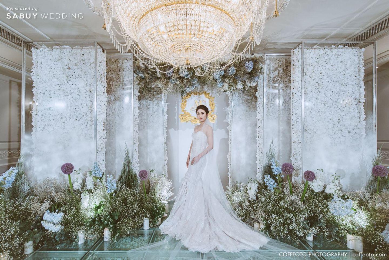 เจ้าสาว,ชุดเจ้าสาว,จัดดอกไม้งานแต่ง,ตกแต่งงานแต่ง,ธีมงานแต่ง,backrop งานแต่ง รีวิวงานแต่ง Winter Wonderland ฉากสวยเป๊ะปัง อลังเว่อร์ @Mandarin Oriental