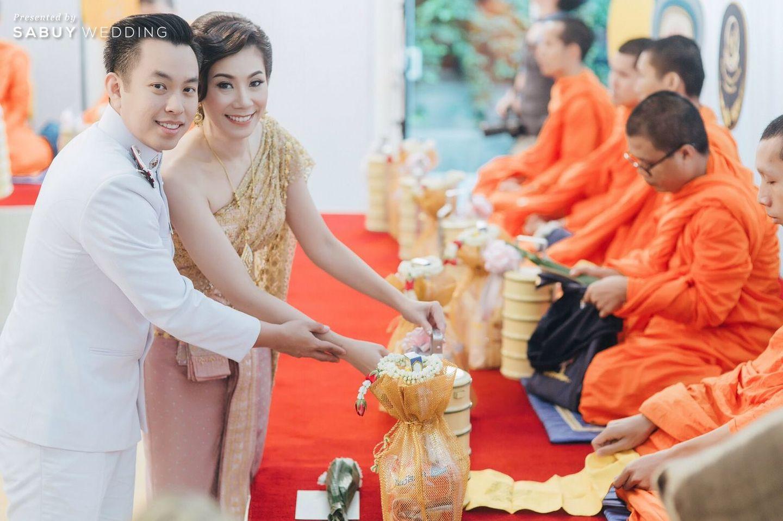 พิธีหมั้น,งานหมั้น,พิธีสงฆ์,ชุดหมั้น รีวิวงานแต่งงานในฝัน สวยจบ ครบทุกฟีลใน 1 ฟลอร์ @The Landmark Bangkok