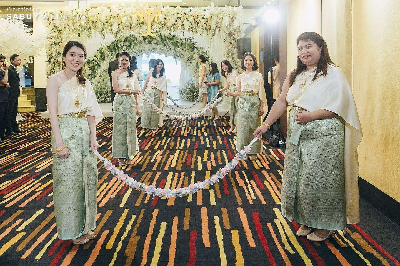 ประตูเงินประตูทอง,จัดดอกไม้งานแต่ง,ตกแต่งงานแต่ง,ชุดไทย,งานหมั้น รีวิวงานแต่งงานในฝัน สวยจบ ครบทุกฟีลใน 1 ฟลอร์ @The Landmark Bangkok