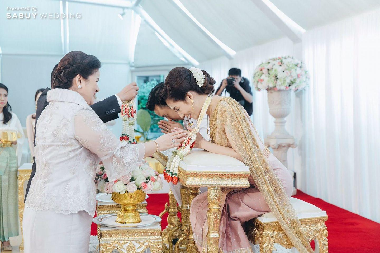 พิธีหมั้น,งานหมั้น รีวิวงานแต่งงานในฝัน สวยจบ ครบทุกฟีลใน 1 ฟลอร์ @The Landmark Bangkok