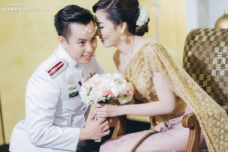 ชุดหมั้น,งานหมั้น,พิธีหมั้น,ช่อดอกไม้,ชุดไทย รีวิวงานแต่งงานในฝัน สวยจบ ครบทุกฟีลใน 1 ฟลอร์ @The Landmark Bangkok