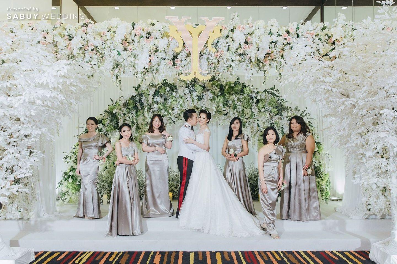 ชุดบ่าวสาว,ธีมงานแต่ง,ชุดเพื่อนเจ้าสาว,จัดดอกไม้งานแต่ง,backdrop งานแต่ง รีวิวงานแต่งงานในฝัน สวยจบ ครบทุกฟีลใน 1 ฟลอร์ @The Landmark Bangkok