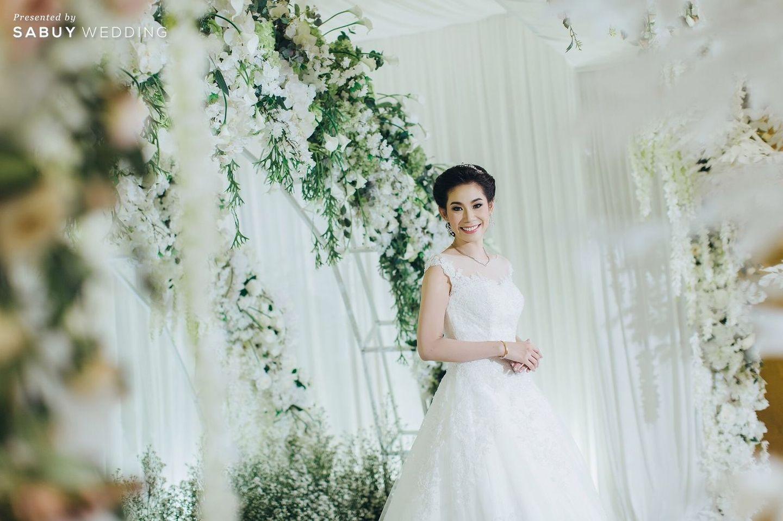 ชุดเจ้าสาว,เจ้าสาว,จัดดอกไม้งานแต่ง รีวิวงานแต่งงานในฝัน สวยจบ ครบทุกฟีลใน 1 ฟลอร์ @The Landmark Bangkok