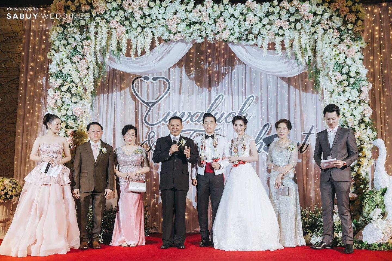 พิธีแต่งงาน,backdrop งานแต่ง,จัดดอกไม้งานแต่ง,ตกแต่งงานแต่ง,บ่าวสาว,ชุดบ่าวสาว รีวิวงานแต่งงานในฝัน สวยจบ ครบทุกฟีลใน 1 ฟลอร์ @The Landmark Bangkok