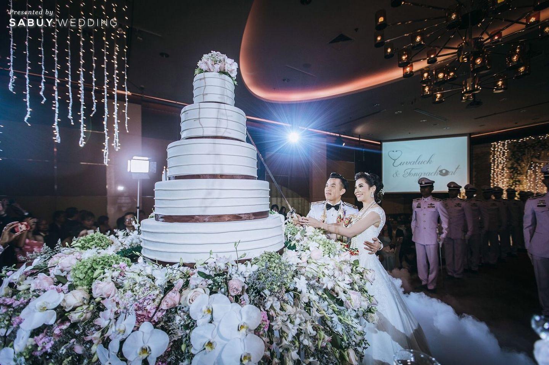 พิธีแต่งงาน,บ่าวสาว,เค้กงานแต่ง,จัดดอกไม้งานแต่ง รีวิวงานแต่งงานในฝัน สวยจบ ครบทุกฟีลใน 1 ฟลอร์ @The Landmark Bangkok