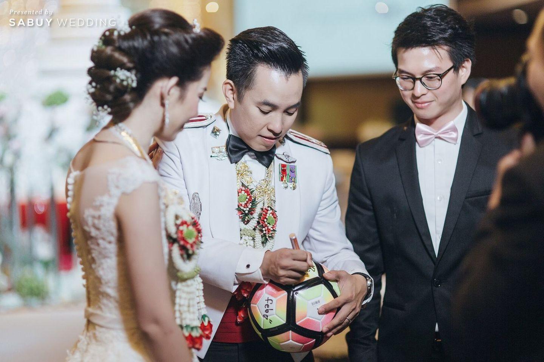บ่าวสาว,พิธีแต่งงาน,ชุดบ่าวสาว,ชุดเจ้าบ่าว รีวิวงานแต่งงานในฝัน สวยจบ ครบทุกฟีลใน 1 ฟลอร์ @The Landmark Bangkok