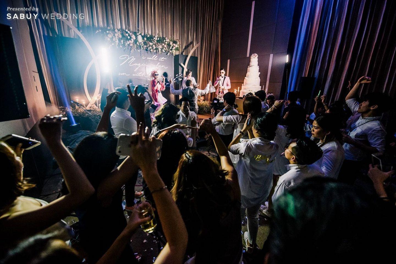 อาฟเตอร์ปาร์ตี้,ธีมงานแต่ง,backdrop งานแต่ง,จัดดอกไม้งานแต่ง,สถานที่แต่งงาน,สถานที่จัดงานแต่งงาน รีวิวงานแต่ง After party ธีมชุดคลุมอาบน้ำสุดจี๊ด ซี๊ดจนสายย่อต้องยอมสยบ @Novotel Ploenchit Sukhumvit