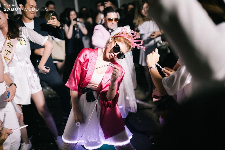 อาฟเตอร์ปาร์ตี้,ธีมงานแต่ง รีวิวงานแต่ง After party ธีมชุดคลุมอาบน้ำสุดจี๊ด ซี๊ดจนสายย่อต้องยอมสยบ @Novotel Ploenchit Sukhumvit