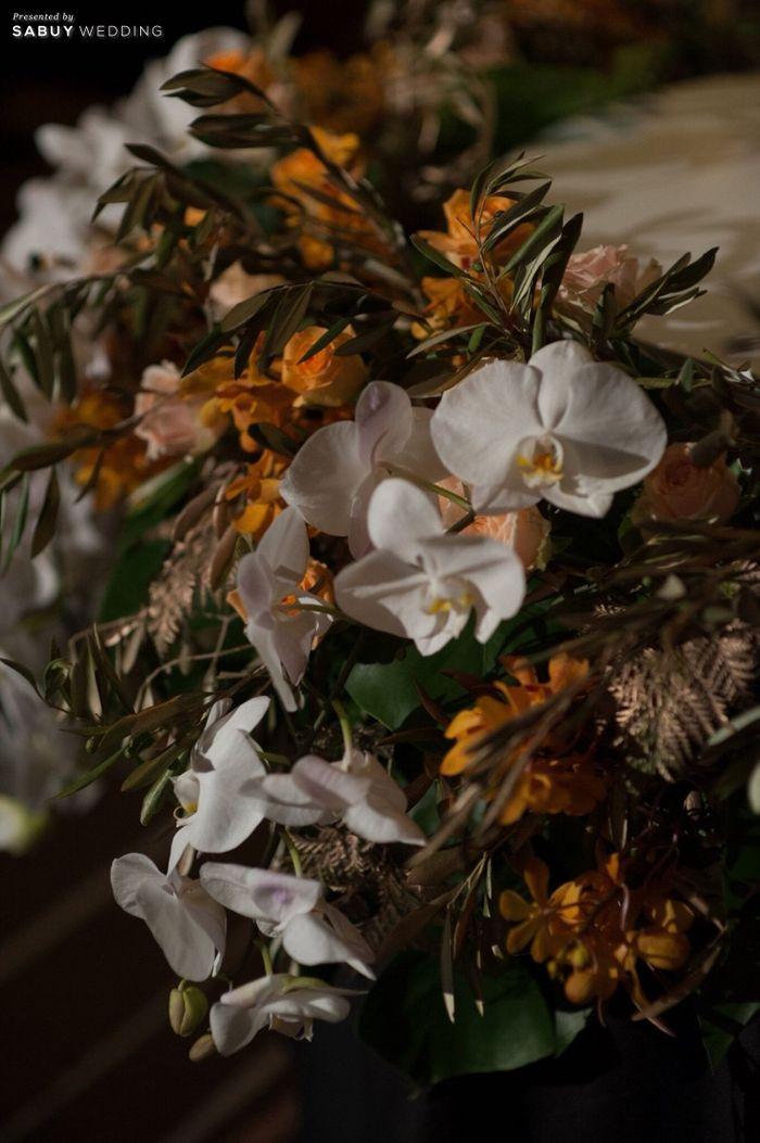 ตกแต่งงานแต่ง,จัดดอกไม้งานแต่ง รีวิวงานแต่ง Sit-down Lunch และ Dinner เฉียบเรียบโก้ โมเดิร์นมาก @SO Sofitel Bangkok