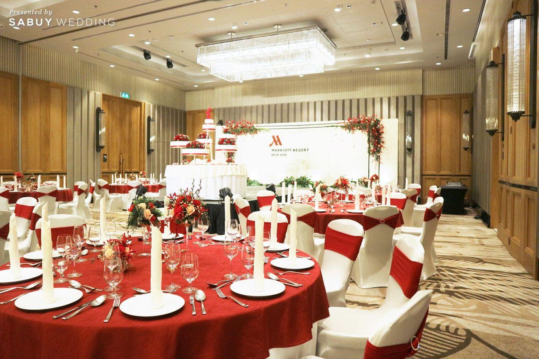 undefined เวดดิ้งโชว์เคสจัดเต็ม เนรมิตรีสอร์ทริมทะเลเป็นสถานที่แต่งงานในฝัน @Hua Hin Marriott Resort & Spa