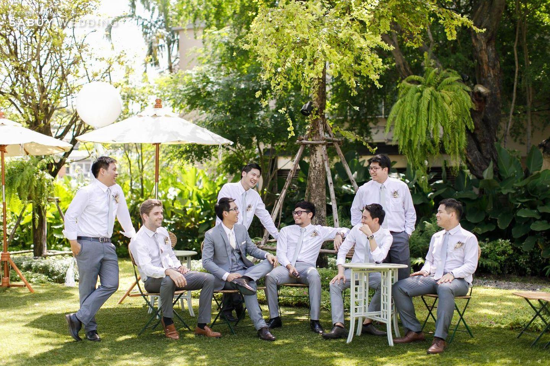 สถานที่แต่งงาน,งานแต่งในสวน,สถานที่แต่งงานเอ้าท์ดอร์,The Botanical House Bangkok,เจ้าบ่าว,เพื่อนเจ้าบ่าว รีวิวงานแต่งในสวนสวย ร่มรื่นด้วยแมกไม้ธรรมชาติ @ The Botanical House Bangkok