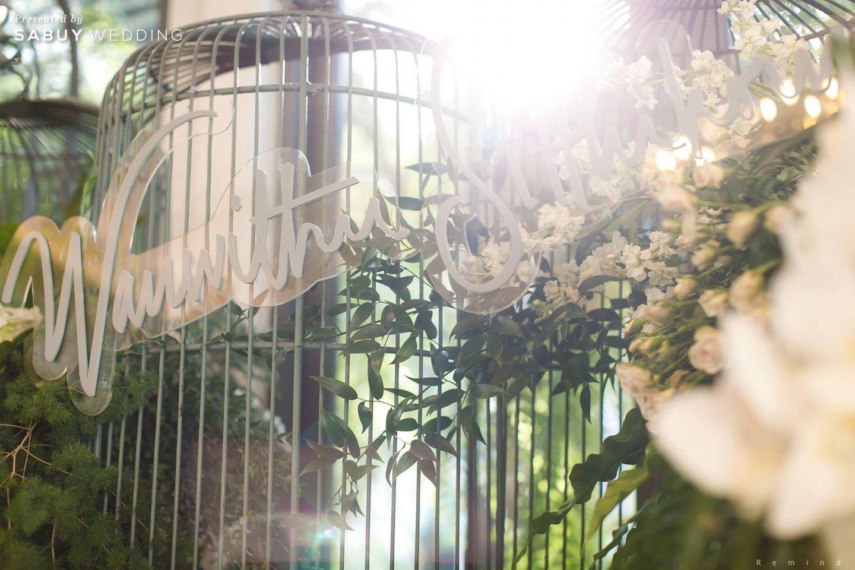 ตกแต่งงานแต่งงาน,Backdrop,ออแกไนเซอร์ รีวิวงานแต่งในสวนสวย ร่มรื่นด้วยแมกไม้ธรรมชาติ @ The Botanical House Bangkok