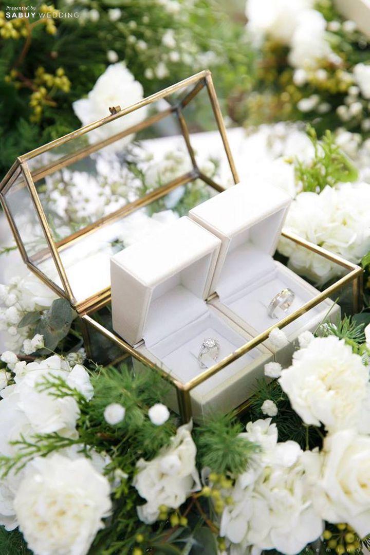 แหวนแต่งงาน รีวิวงานแต่งในสวนสวย ร่มรื่นด้วยแมกไม้ธรรมชาติ @ The Botanical House Bangkok