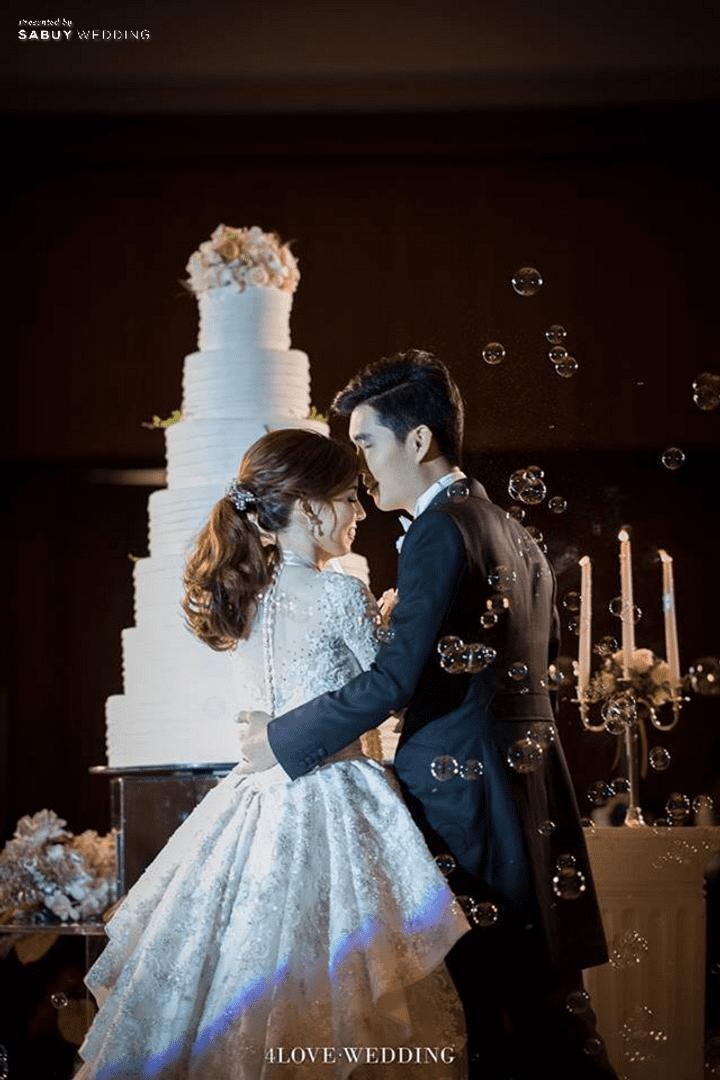 เจ้าบ่าว,เจ้าสาว,แต่งงาน,งานแต่งงาน รีวิวงานแต่งโทนหวาน จัดงานสวยฟุ้งเหมือนโลกแห่งความฝัน @ The Peninsula Bangkok