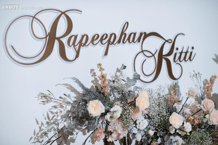 ตกแต่งงานแต่งงาน,weddingplanner รีวิวงานแต่งโทนหวาน จัดงานสวยฟุ้งเหมือนโลกแห่งความฝัน @ The Peninsula Bangkok