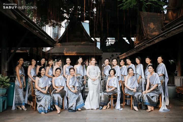 เจ้าสาว,ชุดแต่งงาน,เพื่อนเจ้าสาว,ชุดเพื่อนเจ้าสาว รีวิวงานแต่งโทนหวาน จัดงานสวยฟุ้งเหมือนโลกแห่งความฝัน @ The Peninsula Bangkok