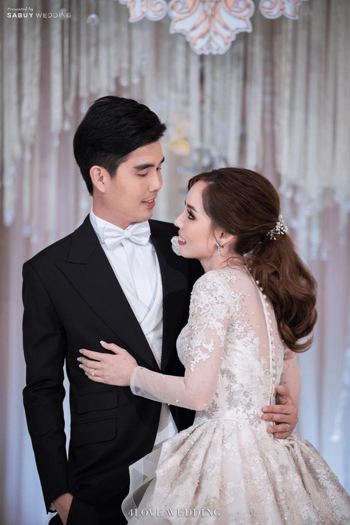 เจ้าบ่าว,เจ้าสาว รีวิวงานแต่งโทนหวาน จัดงานสวยฟุ้งเหมือนโลกแห่งความฝัน @ The Peninsula Bangkok