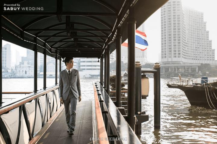 เจ้าบ่าว รีวิวงานแต่งโทนหวาน จัดงานสวยฟุ้งเหมือนโลกแห่งความฝัน @ The Peninsula Bangkok