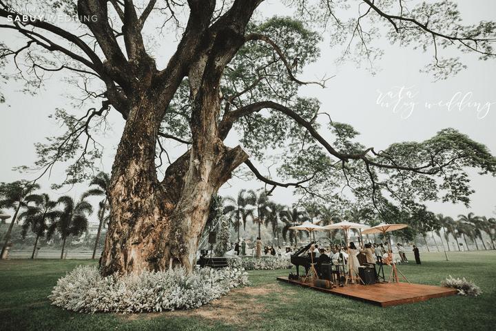 รีวิวงานแต่งสวนสวยละมุนใจ บรรยากาศโรแมนติก @ Le coq d'or Chiangmai