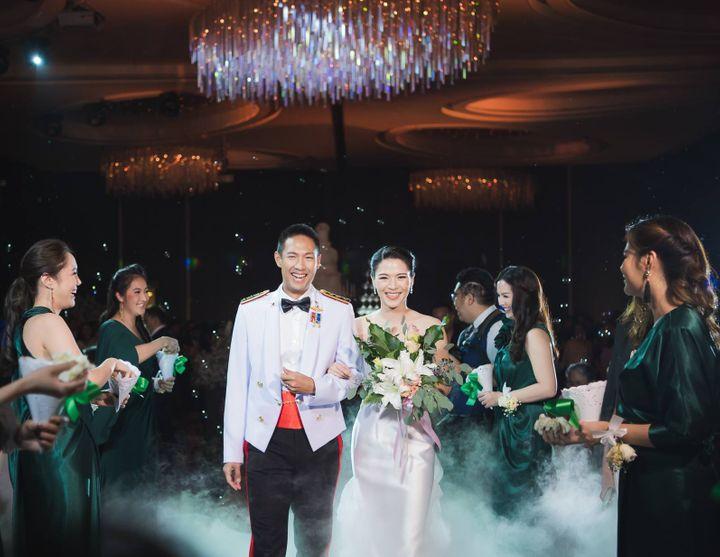CDC Crystal Grand Ballroom ห้องจัดเลี้ยงแชนเดอเลียร์สวยแกรนด์ ถ่ายรูปงานแต่งมุมไหนก็ปัง!