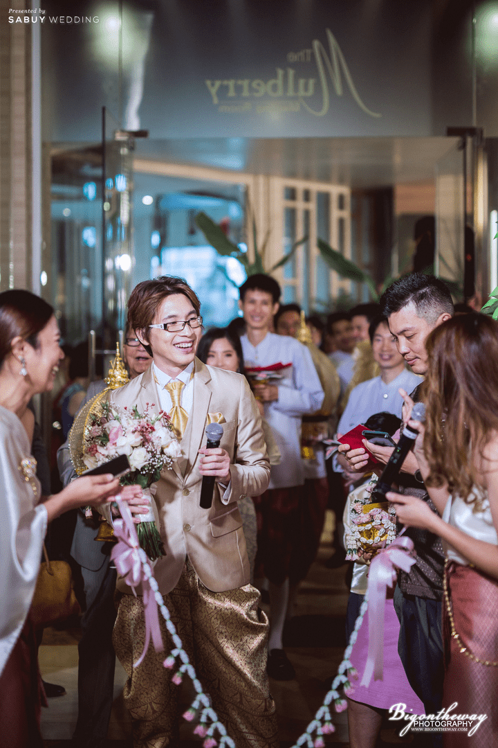 รีวิวงานแต่งสวยชิค ในสถานที่แต่งงานสุดแกรนด์ @ The Berkeley Hotel Pratunam