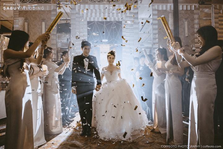 เจ้าบ่าว,เจ้าสาว,แต่งงาน รีวิวงานแต่งสวยปัง อลังกับชุดเจ้าสาว Glow in the dark เรืองแสงได้ @ InterContinental Bangkok
