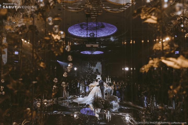 งานแต่งงาน รีวิวงานแต่งสวยปัง อลังกับชุดเจ้าสาว Glow in the dark เรืองแสงได้ @ InterContinental Bangkok