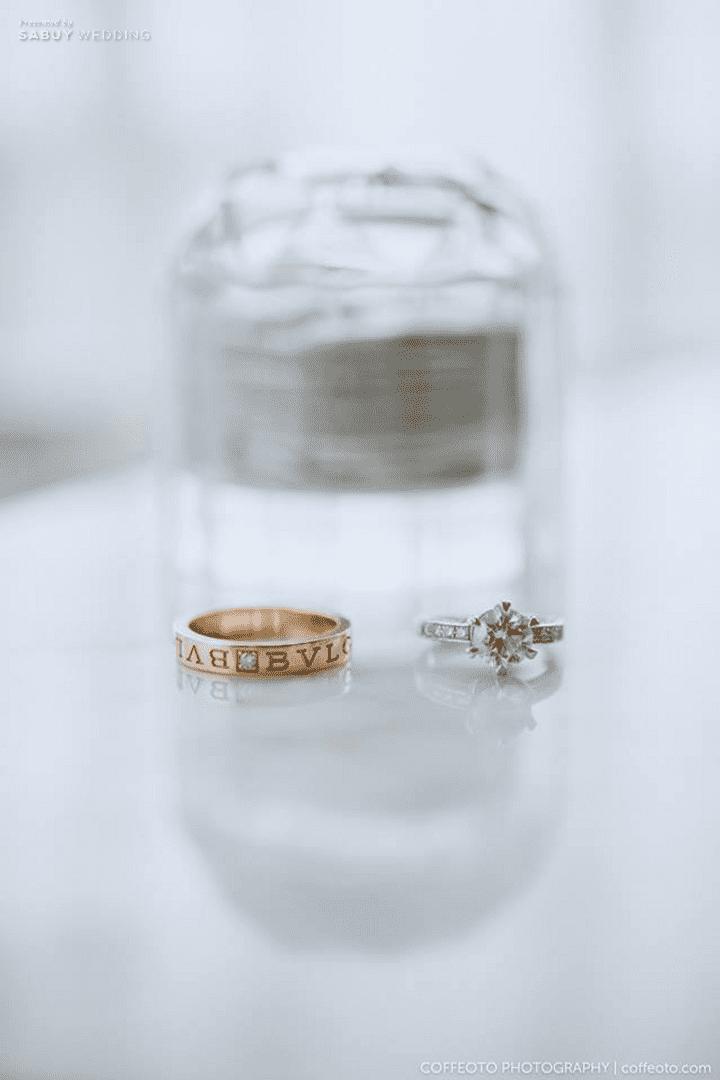 แหวนแต่งงาน รีวิวงานแต่งสวยปัง อลังกับชุดเจ้าสาว Glow in the dark เรืองแสงได้ @ InterContinental Bangkok