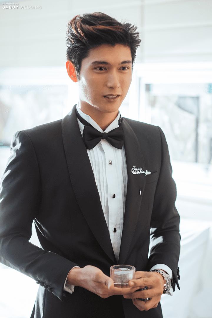 ชุดเจ้าบ่าว รีวิวงานแต่งสวยปัง อลังกับชุดเจ้าสาว Glow in the dark เรืองแสงได้ @ InterContinental Bangkok