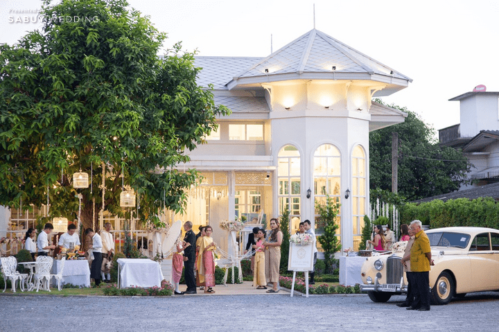 สถานที่แต่งงานนครปฐม รีวิวงานแต่งเสน่ห์ไทย ในสถานที่สไตล์โคโลเนียล @ House of Chandra