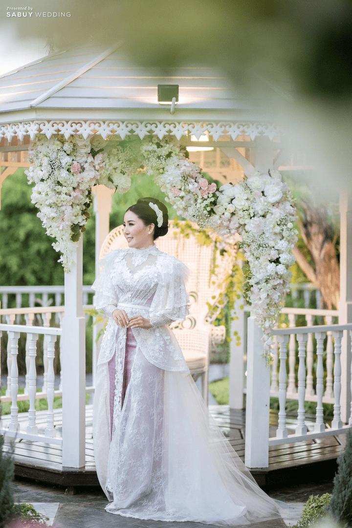 ชุดเจ้าสาว,ชุดแต่งงาน รีวิวงานแต่งเสน่ห์ไทย ในสถานที่สไตล์โคโลเนียล @ House of Chandra
