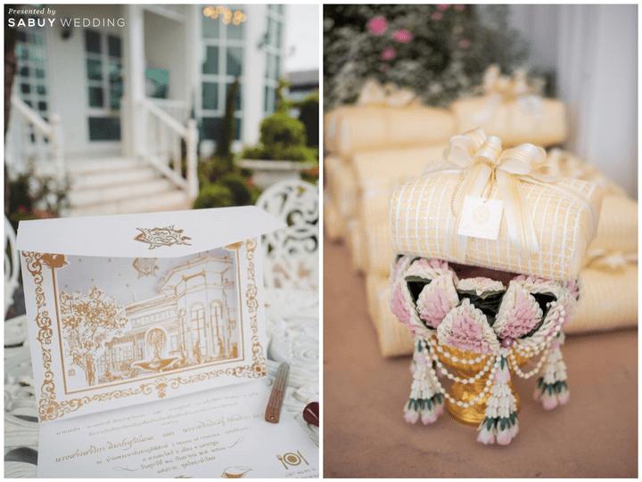 การ์ดแต่งงาน,ของรับไหว้ รีวิวงานแต่งเสน่ห์ไทย ในสถานที่สไตล์โคโลเนียล @ House of Chandra