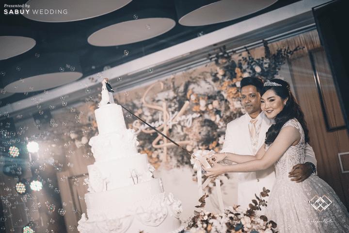 เค้กแต่งงาน รีวิวงานแต่งหวานละมุนใจ ในคอนเซ็ปต์ A thousand years @ Novotel Bangkok On Siam Square
