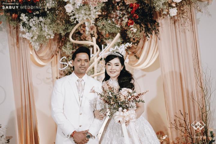 ชุดแต่งงาน,ชุดเจ้าสาว รีวิวงานแต่งหวานละมุนใจ ในคอนเซ็ปต์ A thousand years @ Novotel Bangkok On Siam Square