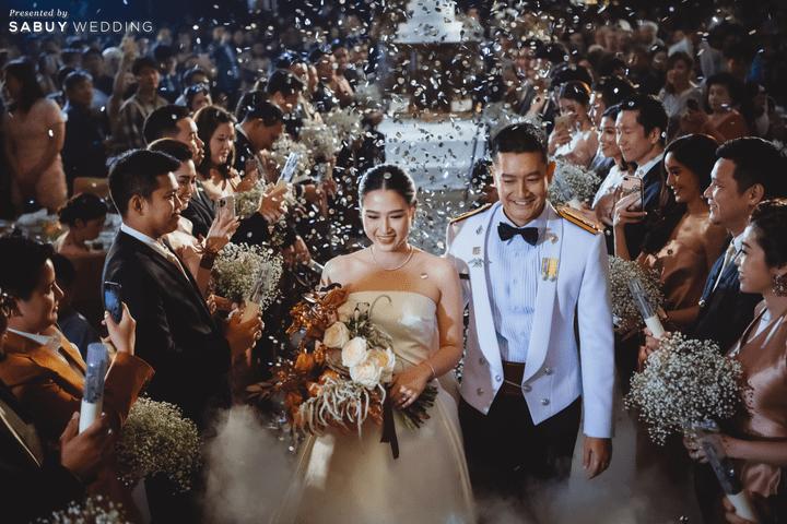 ชุดแต่งงาน,ชุดเจ้าสาว,งานแต่งงาน รีวิวงานแต่งโทนสีแชมเปญ สวยเรียบหรู ดูโมเดิร์น @ Sofitel Bangkok Sukhumvit