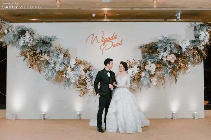 ชุดเจ้าสาว,สถานที่แต่งงาน,ชุดแต่งงาน,backdrop รีวิวงานแต่งธีมสี Taupe สวยดูดีแบบ Luxury Style @ Hyatt Regency Bangkok Sukhumvit