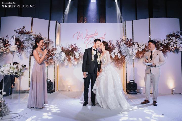งานแต่งงาน รีวิวงานแต่งธีมสี Taupe สวยดูดีแบบ Luxury Style @ Hyatt Regency Bangkok Sukhumvit