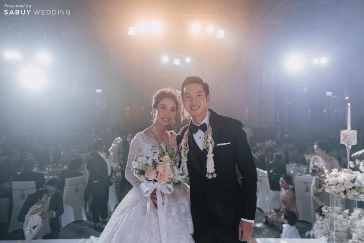 ชุดแต่งงาน,ดอกไม้เจ้าสาว รีวิวงานแต่งธีมสี Taupe สวยดูดีแบบ Luxury Style @ Hyatt Regency Bangkok Sukhumvit