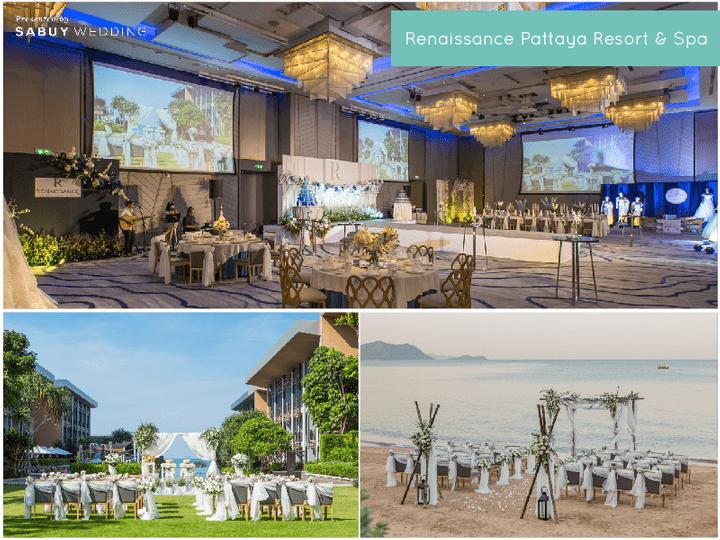 รวมสถานที่จัดงานแต่งริมทะเล วิวโรแมนติก ในงาน SabuyWedding Festival 2020!