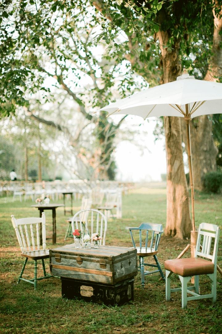 สถานที่แต่งงาน รีวิวงานแต่ง Outdoor บรรยากาศอบอุ่น ดีไซน์คุมธีมธรรมชาติ @ Lampang River Lodge
