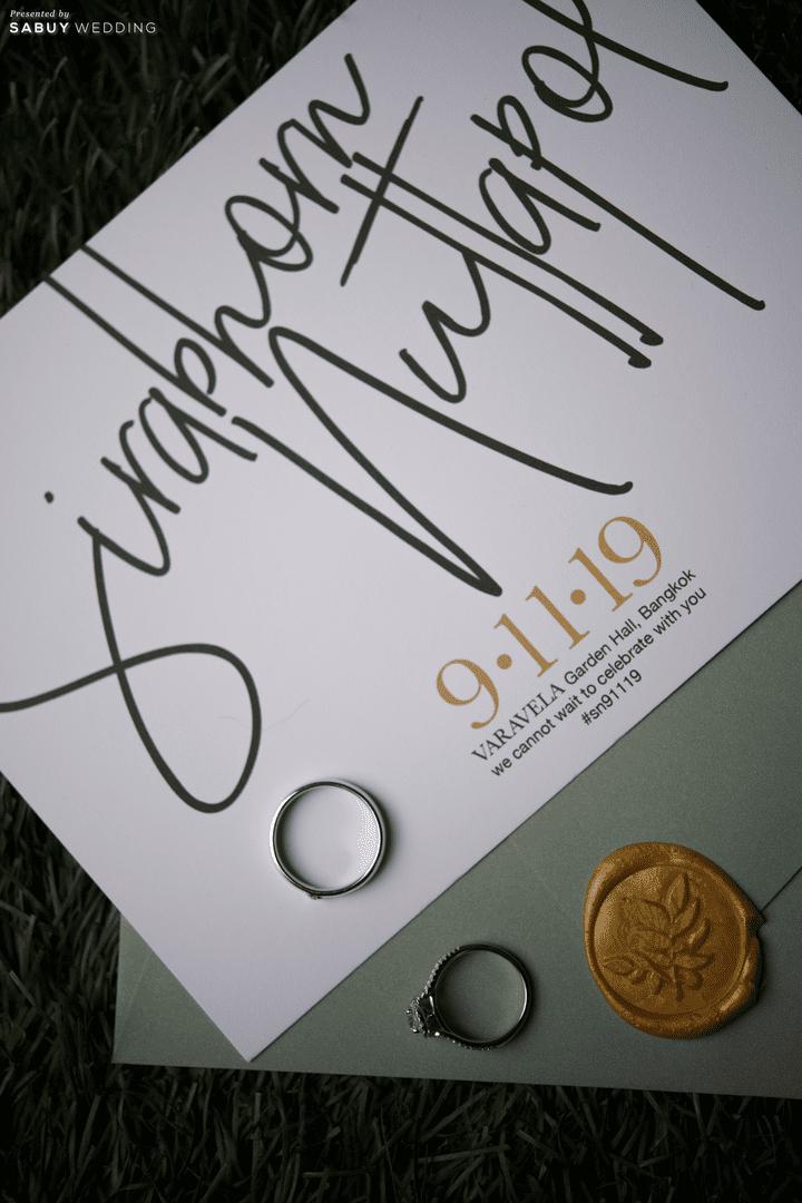 การ์ดแต่งงาน,แหวนแต่งงาน รีวิวงานแต่งสุดชิค สวยมีกิมมิค ดู Timeless @ VARAVELA
