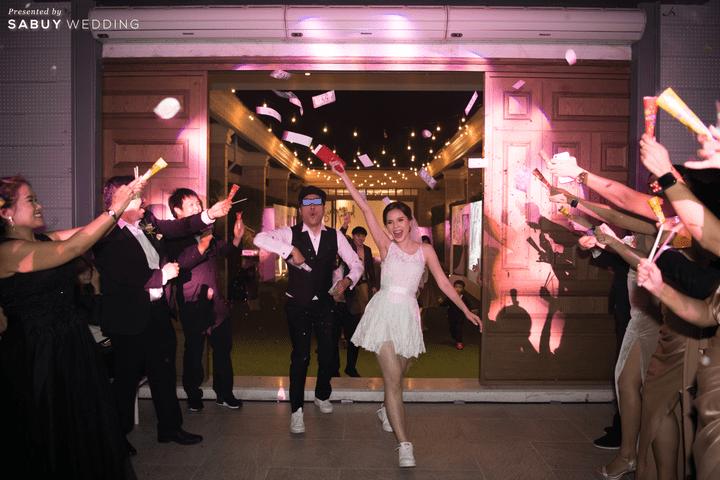 งานแต่งงาน,ชุดอาฟเตอร์ปาร์ตี้ รีวิวงานแต่งสุดชิค สวยมีกิมมิค ดู Timeless @ VARAVELA