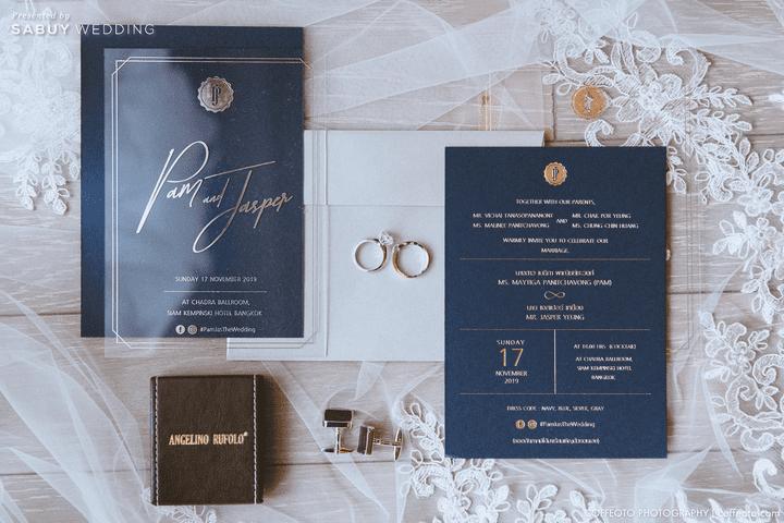 การ์ดแต่งงาน,แหวนแต่งงาน รีวิวงานแต่งสวยปัง อลังกับบรรยากาศ Lake Blausee สุดโรแมนติก @ Siam kempinski hotel Bangkok