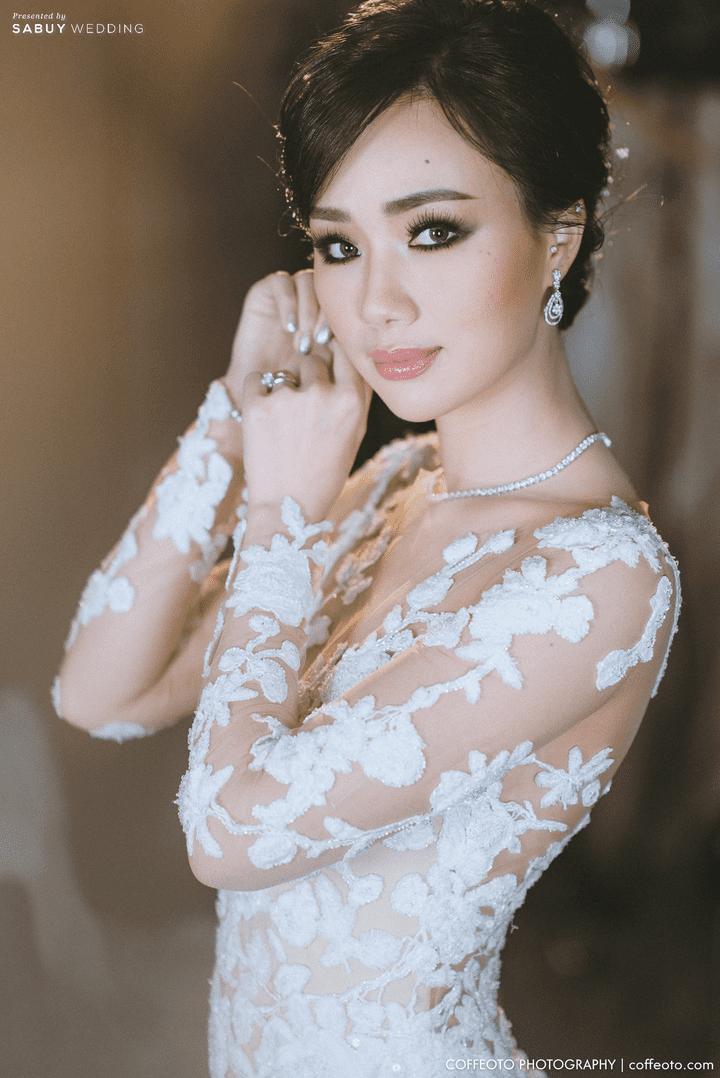 ชุดเจ้าสาว,แหวนแต่งงาน รีวิวงานแต่งสวยปัง อลังกับบรรยากาศ Lake Blausee สุดโรแมนติก @ Siam kempinski hotel Bangkok