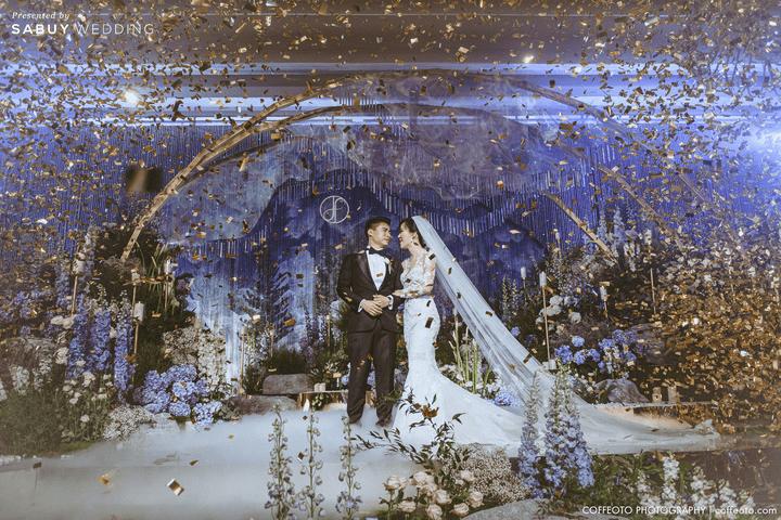 สถานที่จัดงานแต่งงาน,backdrop,ชุดเจ้าบ่าว,ชุดเจ้าสาว รีวิวงานแต่งสวยปัง อลังกับบรรยากาศ Lake Blausee สุดโรแมนติก @ Siam kempinski hotel Bangkok