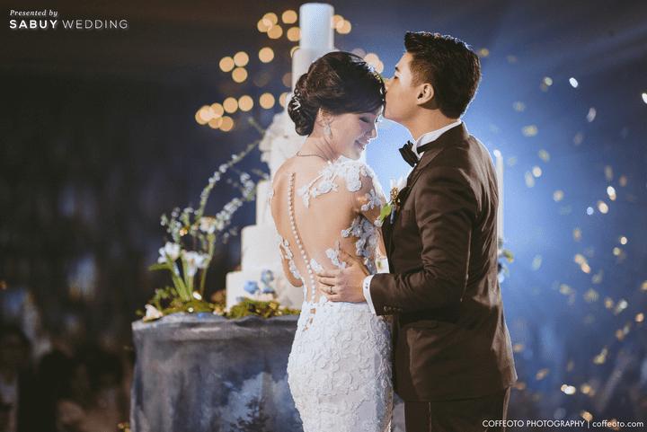 สถานที่จัดงานแต่งงาน,ชุดเจ้าบ่าว,ชุดเจ้าสาว,เค้กแต่งงาน รีวิวงานแต่งสวยปัง อลังกับบรรยากาศ Lake Blausee สุดโรแมนติก @ Siam kempinski hotel Bangkok