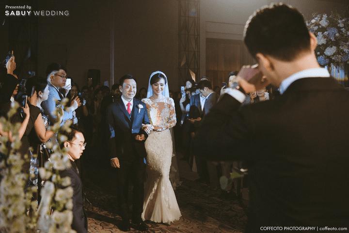 สถานที่จัดงานแต่งงาน,,ชุดเจ้าบ่าว,ชุดเจ้าสาว รีวิวงานแต่งสวยปัง อลังกับบรรยากาศ Lake Blausee สุดโรแมนติก @ Siam kempinski hotel Bangkok
