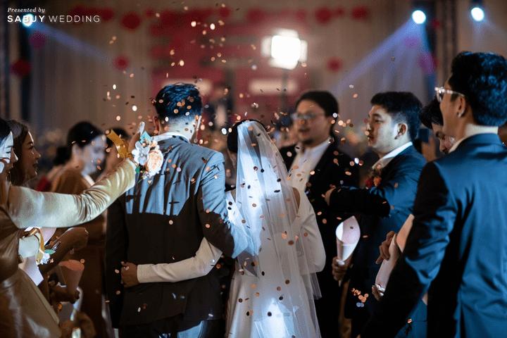 งานแต่งงาน,เจ้าบ่าว,เจ้าสาว รีวิวงานแต่ง 2 สถานที่ สวยดูดีสไตล์ Vintage Chinese Modern @ หอประชุมศาลเจ้าแม่ทับทิม
