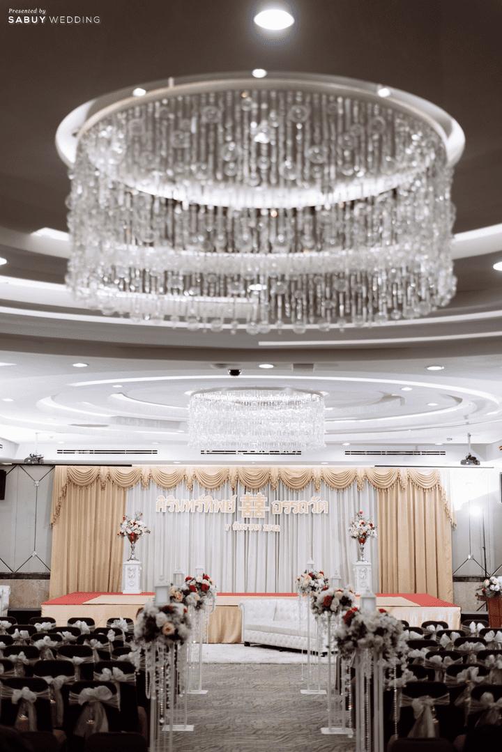 สถานที่จัดงานแต่งงาน,โรงแรม รีวิวงานแต่ง 2 สถานที่ สวยดูดีสไตล์ Vintage Chinese Modern @ หอประชุมศาลเจ้าแม่ทับทิม
